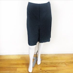 Speechless polkadot pencil skirt
